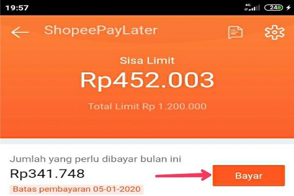Cara Bayar Shopee Paylater Mudah Banget