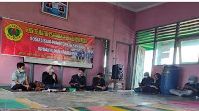 Peserta KKN UNRAM di Desa Kotaraja Adakan Sosialisasi Pengolahan Sampah