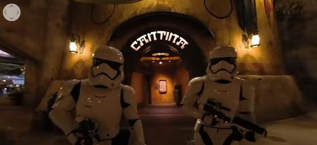 #DisneyMagicMoments, 360 Videos:Oga's Cantina, Dok Ondars, 星球大戰銀河邊緣, Star Wars Galaxy's Edge