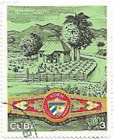 Selo Plantação de Tabaco