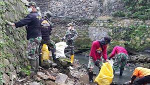 Satgas Sub03 sektor22, Butuh Kesadaran Masyarakat Supaya Tercapai Sungai Yang Bersih