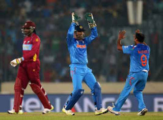 India vs West Indies 17th Match ICC World T20 2014 Highlights