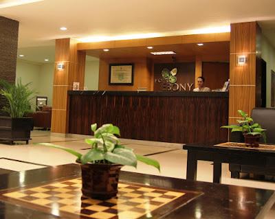 Lobby Ebony hotel batulicin