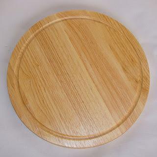 Thớt tròn gỗ cao su