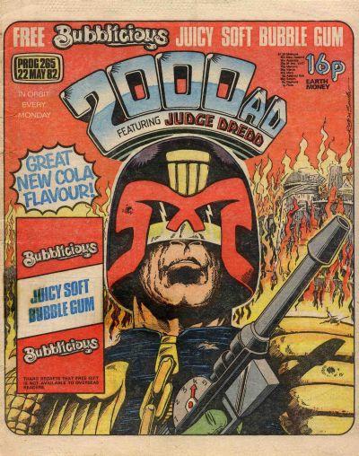 2000 AD Prog 265, Judge Dredd