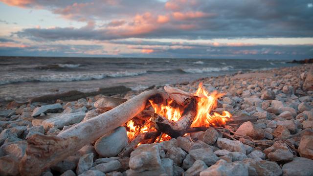 sobrevivência, importância do fogo, evolução da humanidade