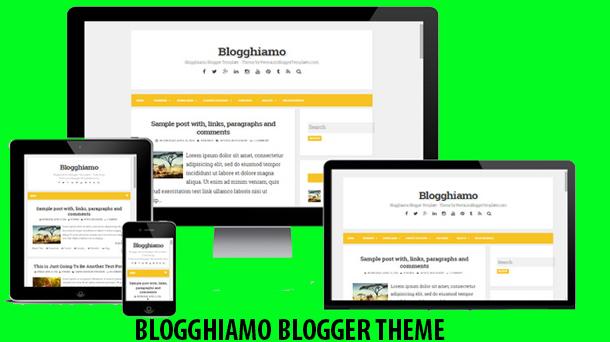 Blogghiamo Free Theme Responsive - Responsive Blogger Template