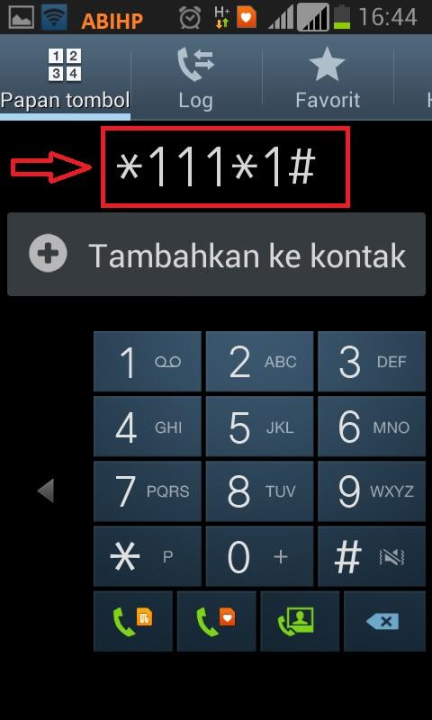 Untuk membeli paket silahkan call ke *111*1#