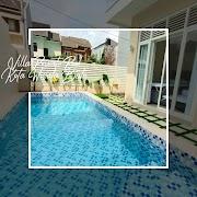 Villa Fasilitas Kolam Renang - Minimalis - Kusuma Pesanggrahan Kota Batu