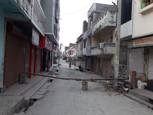 Corona blast in Kherwada Rajasthan 7 positives in a single day News Vision India Hindi Samachar