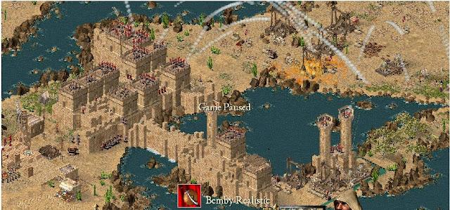 Trik Bermain Stronghold Crusader Tanpa Cheat/ Membuat Pertahanan Kuat Namun Sederhana