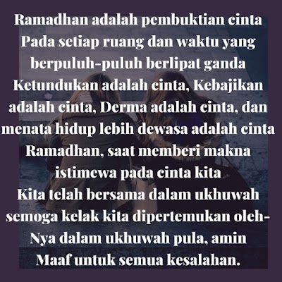 kata-kata minta maaf menyambut bulan suci ramadhan