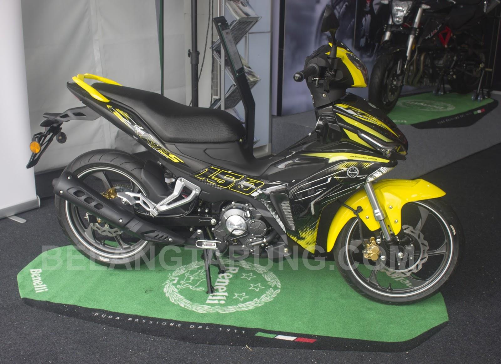 Perbandingan Spesifikasi Motosikal Yamaha Y15R, Honda Rs150