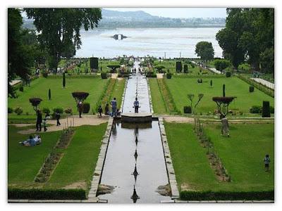Mughal garden in Srinagar