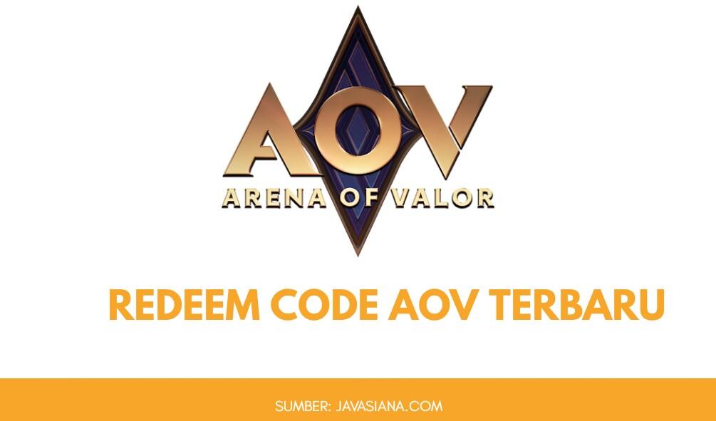 Redeem Code AOV: Begini Cara Tukar Kode di Arena Of Valor