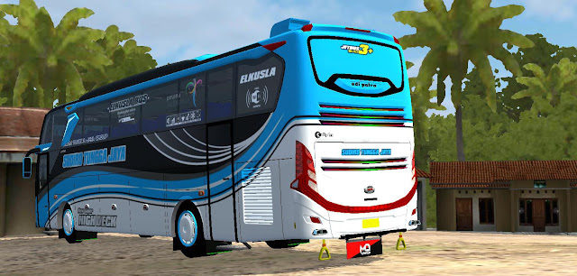 New Update JETBUS 3+ SHD Voyager Racing BUSSID v3.3.2