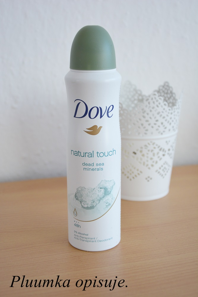 Dove antyperspirant w aerozolu - Woman Natural Touch.