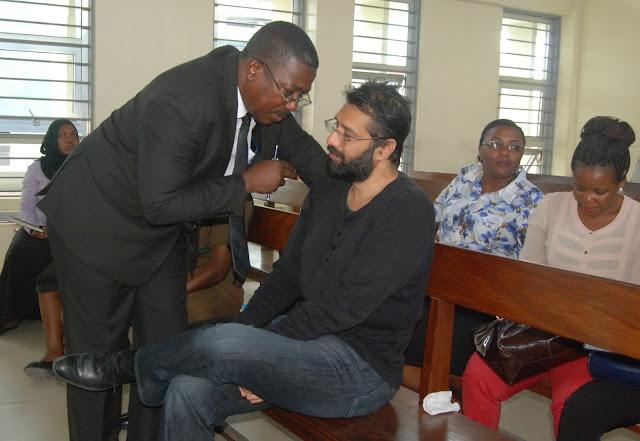 Ofisi za Wakili wa Manji Hudson Ndusyepo Zavamiwa na Kuibiwa Nyaraka