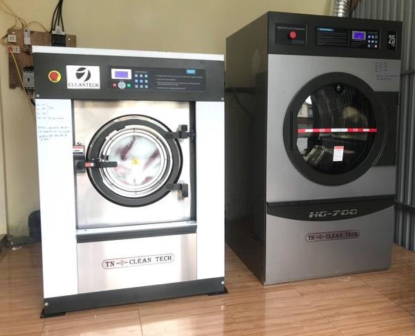 máy giặt công nghiệp cho xưởng giặt là