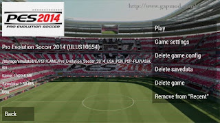 Pro Evolution Soccer PES 2014 (USA) ISO PSP Android