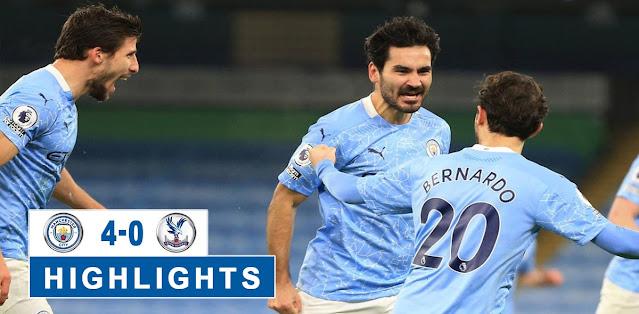 Manchester City vs Crystal Palace – Highlights