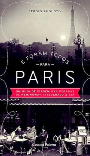 """livro """"E foram todos para Paris"""""""