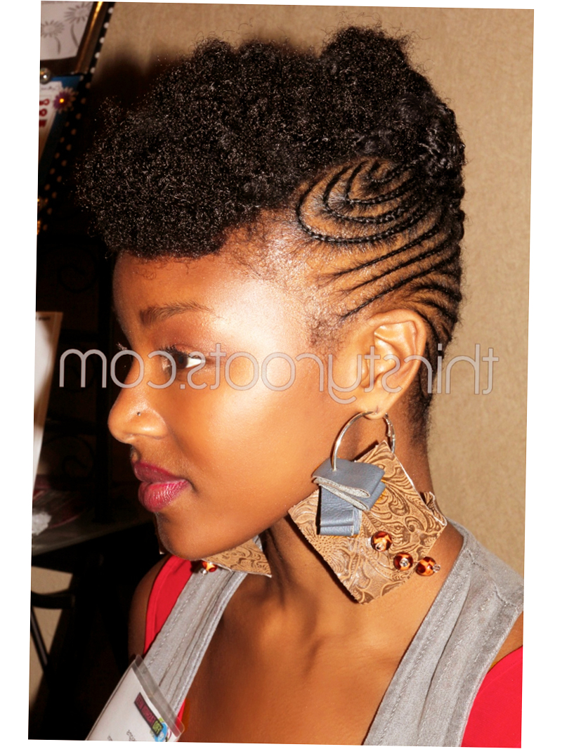 Black Girl Braid Hairstyles 2015 Pic