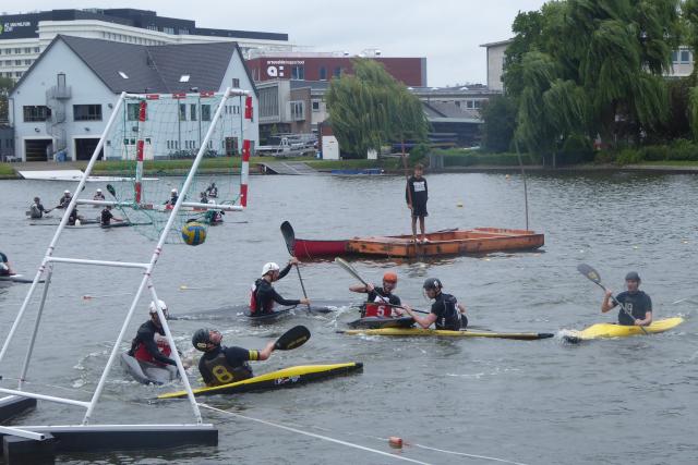 Canoe-polo a Gent