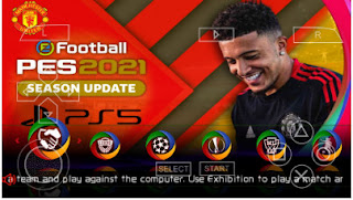 Download PES 2021 PPSSPP English Android Final Version Update Full Transfer & New HD Face Best Graphics