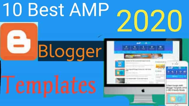 AMP Blogger Template
