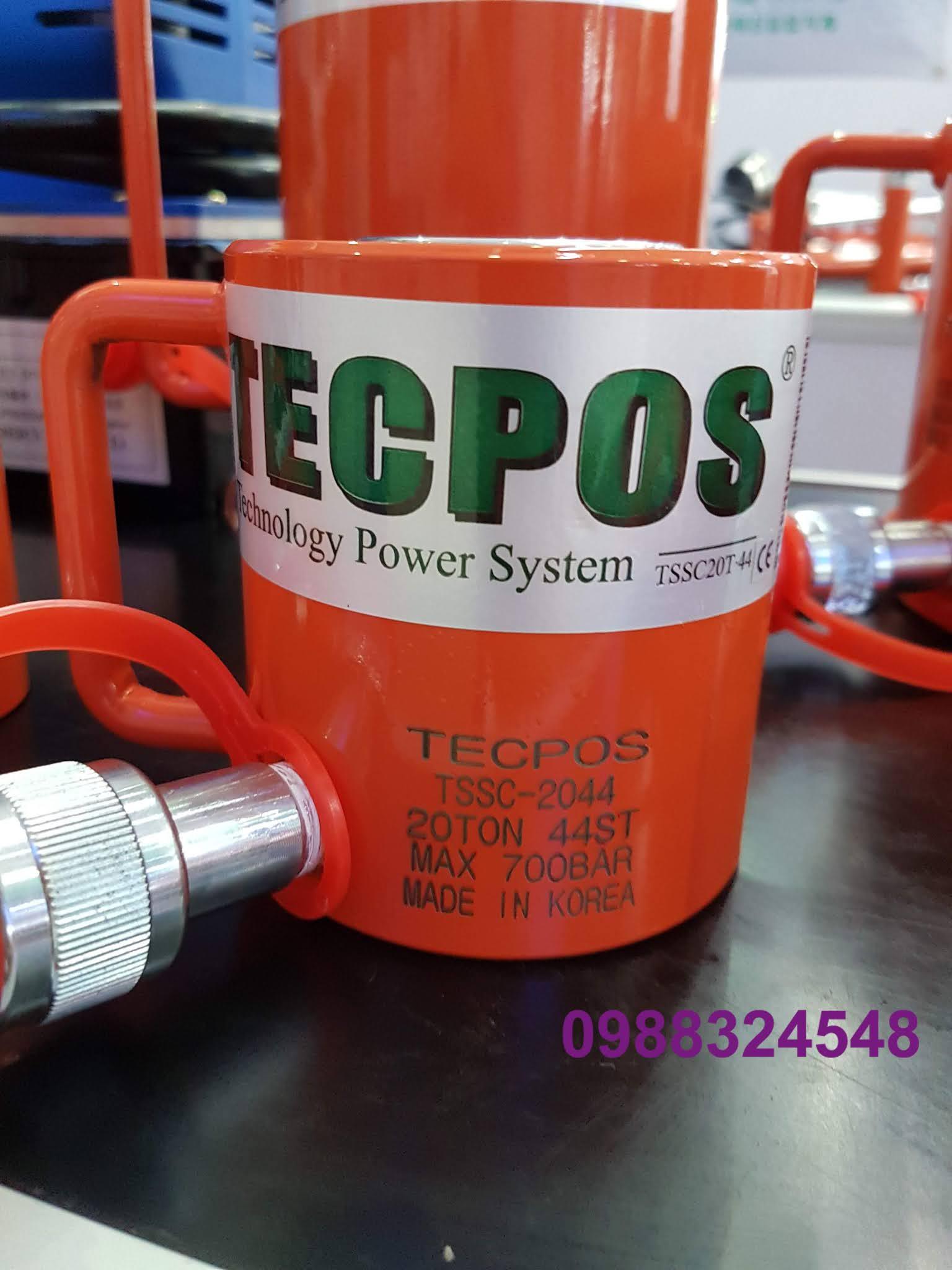 Kích thủy lực Tecpos 20 tấn TSSC-2044, hành trình 44mm