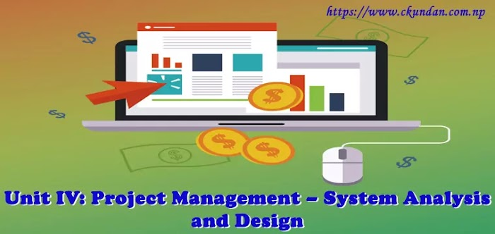 Unit IV: Project Management – System Analysis and Design