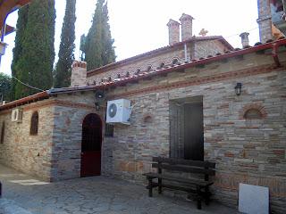 ναός της αγίας Παρασκευής στον ομώνυμο μοναστήρι των Σερρών