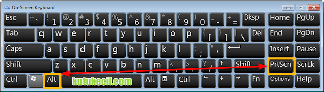 bagaimana cara screenshot di laptop dell