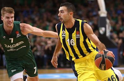 Kostas Sloukas - Fenerbahçe - Zalgiris Kaunas