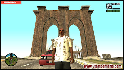 GTA San Andreas New HD City Gostown Mod Free Download
