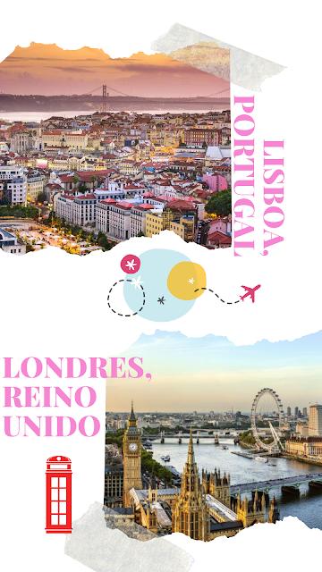 Lisboa, Portugal y Londres, Reino Unido