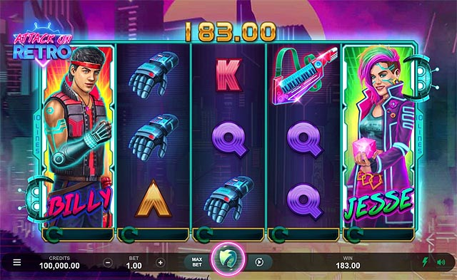 Ulasan Slot Microgaming Indonesia - Attack on Retro Slot Online