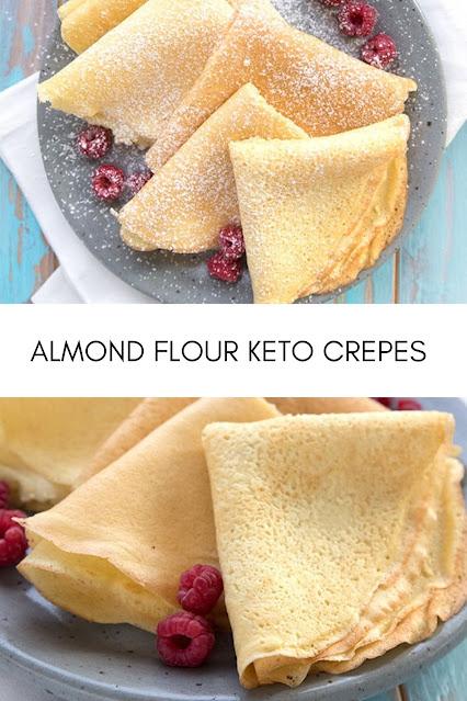 Keto Almond Flour Crepes