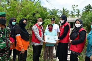 Ketua BK3S Batu Bara Salurkan Bantuan CSR PT. Multimas Nabati Asahan