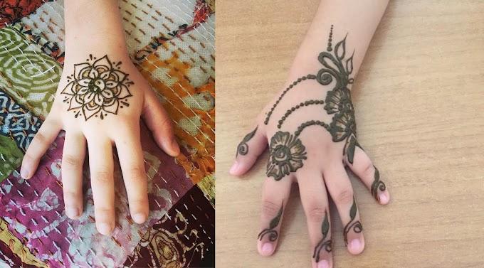 Mehndi Designs for Kids | Mehndi Creation