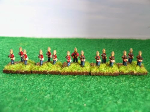 1st/24th Regiment of Foot, C company, Capt R. Younghusband