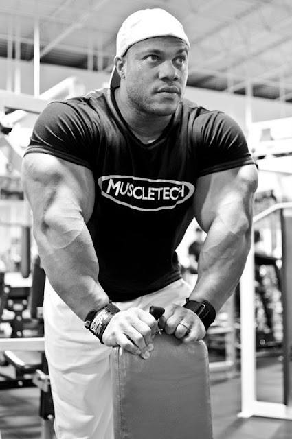Phil Heath Workout In Gym