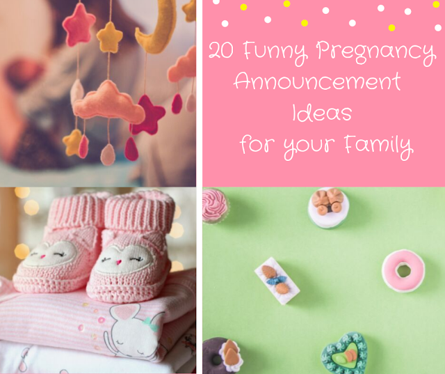 20 Cute ways to announce your pregnancy to your family