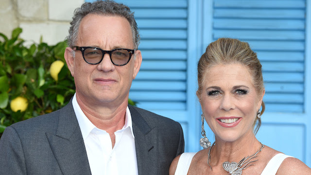 Tom Hanks publica una foto con su esposa y habla de su estado por primera vez tras contagiarse con coronavirus