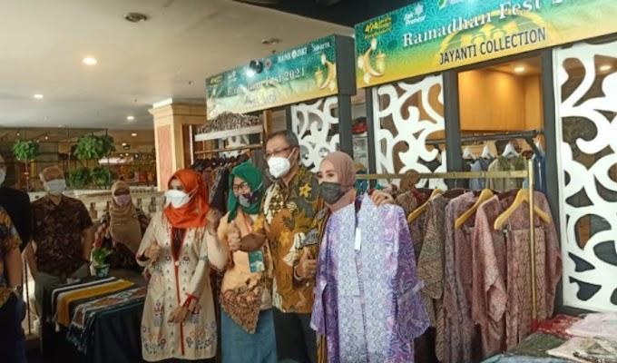 Jayanti Collection Ada di Rumah Fest 2021, Wako Jakpus harap UMKM Bisa Bangkit dan Berdaya Saing