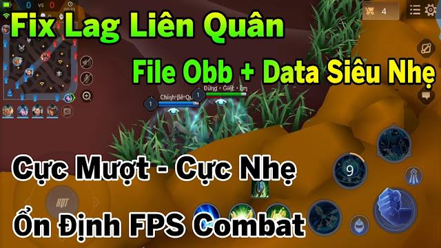 Fix Lag Liên Quân Mùa 14 Mới Nhất File Obb + Data Siêu Nhẹ Siêu Mượt, Tối Ưu Cực Gắt | HQT CHANNEL