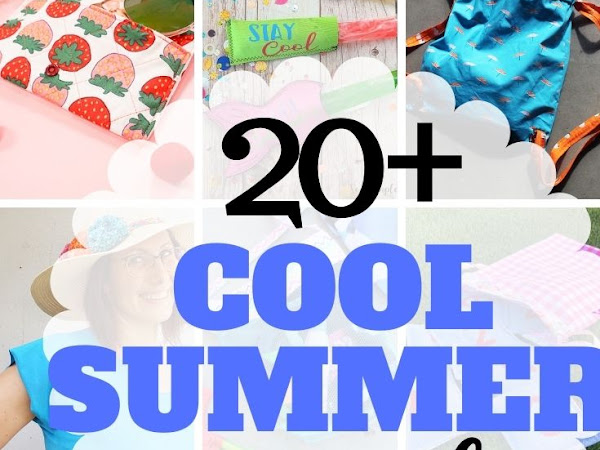 20+ Cool Summer Sewing Projects