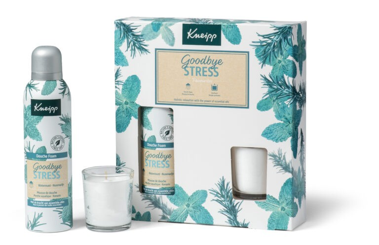 Nieuwe kneipp Giftsets voor Sint/kerst 2020 Goodbye stress favourits collectie