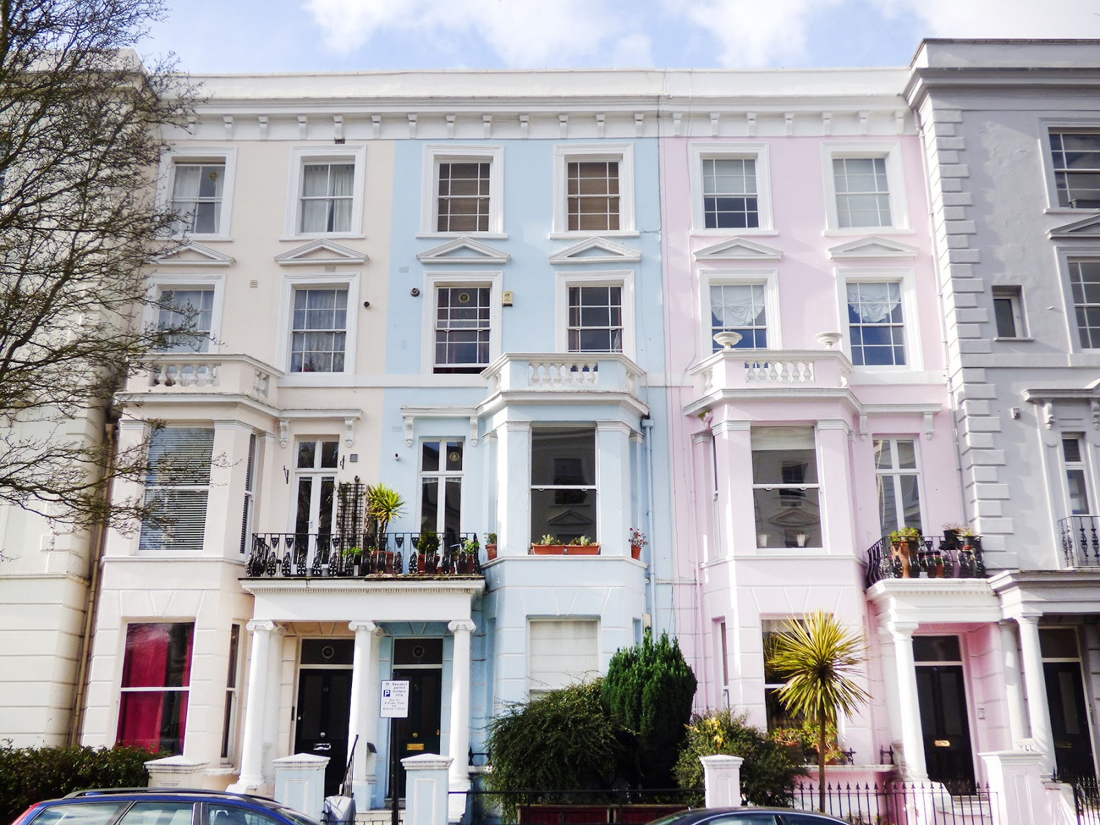 The colorful houses of notting hill paige taylor evans for House notting hill